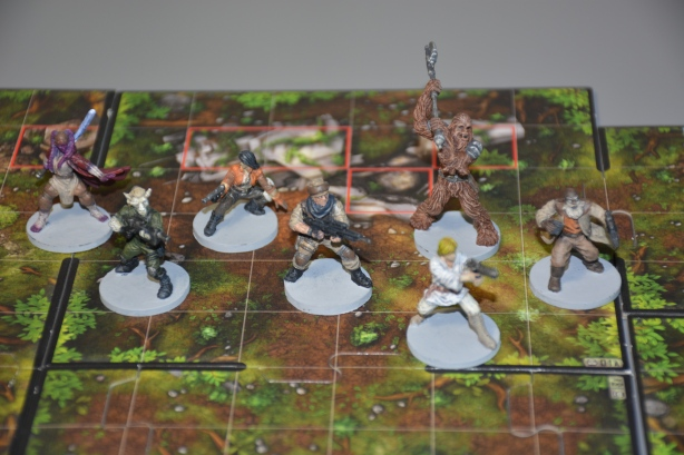 Star Wars Imperial Assault (SWIA) REBEL HEROES