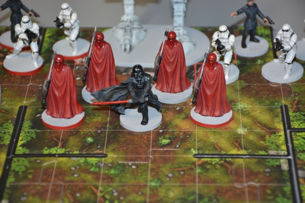 Star Wars Imperial Assault (SWIA) VADER AND ROYAL GUARD